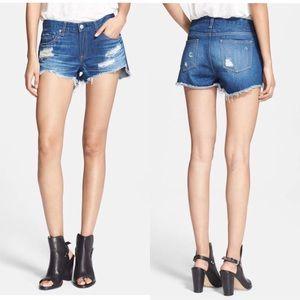 NWOT Rag and Bone 'The Cutoff' Denim Shorts
